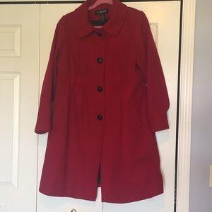 Lane Bryant Wool Coat